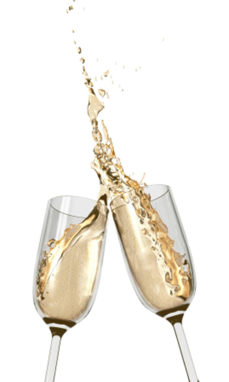 champagneflaskor